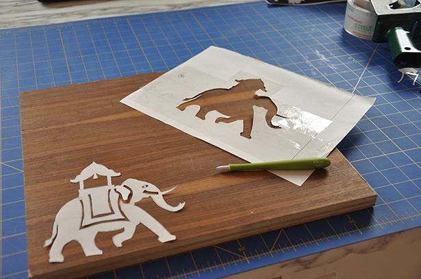Elephant cutout - DSC_0010